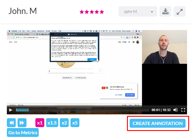 create annotations
