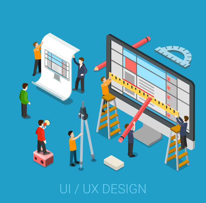 Interdependence between UI and UX